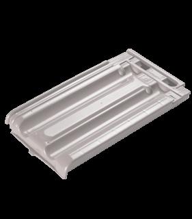 teja de policarbonato blanca